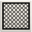 rug #841439 | square white geometry rug