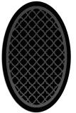 rug #841460   oval borders rug