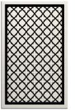 rug #841471 |  white borders rug