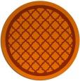 rug #841485 | round borders rug