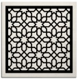 rug #841999 | square white borders rug