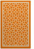 rug #842027 |  orange borders rug