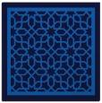 rug #853931 | square blue rug