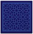 rug #854003   square blue-violet borders rug
