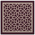 rug #854051 | square pink borders rug
