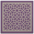 rug #854075 | square purple borders rug