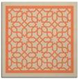 rug #854099   square beige borders rug