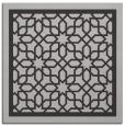 rug #854103 | square orange borders rug
