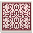 rug #854111 | square pink borders rug