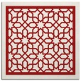 rug #854147   square red borders rug