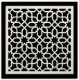 rug #854171 | square black borders rug