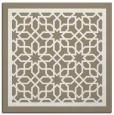 rug #854191 | square white borders rug