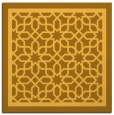 rug #854211 | square light-orange borders rug