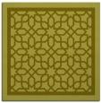 rug #854219 | square light-green borders rug