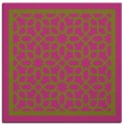 rug #854227 | square pink borders rug