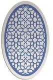 rug #854283 | oval borders rug