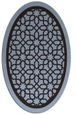 rug #854349 | oval borders rug