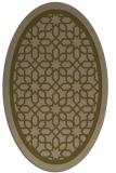 rug #854351 | oval geometry rug