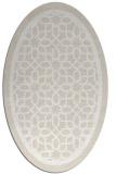 rug #854386   oval geometry rug