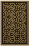 rug #854591 |  mid-brown borders rug