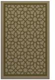 rug #854687 |  brown borders rug