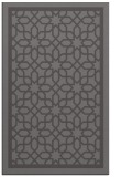rug #854711 |  mid-brown borders rug
