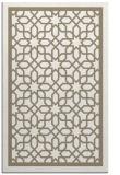 rug #854719 |  mid-brown borders rug