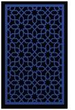 rug #854735 |  black borders rug