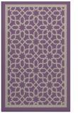 rug #854747    purple borders rug