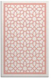 rug #854791 |  pink geometry rug