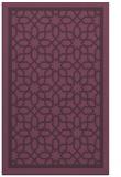 rug #854795 |  purple borders rug