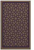 rug #854803 |  mid-brown borders rug