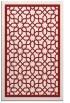 rug #854819 |  red geometry rug