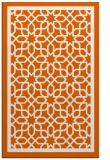 rug #854839 |  red-orange borders rug
