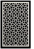 rug #854843 |  black borders rug