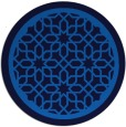 rug #854939 | round blue rug