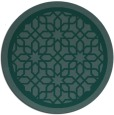 rug #854949 | round borders rug