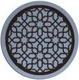 rug #855021   round borders rug