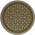rug #855023 | round brown popular rug