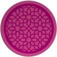 rug #855115 | round pink borders rug