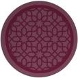 rug #855133 | round borders rug