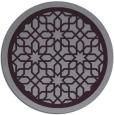 rug #855143   round purple borders rug