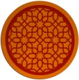 rug #855151 | round red borders rug