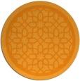 rug #855251 | round light-orange geometry rug