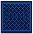 rug #857291 | square blue traditional rug