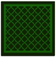 rug #857319 | square green traditional rug