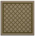 rug #857375 | square mid-brown borders rug