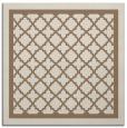 rug #857403 | square beige borders rug