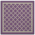 rug #857435 | square beige traditional rug