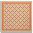 rug #857459 | square beige borders rug
